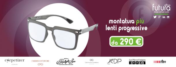 montatura più occhiali a 290 euro