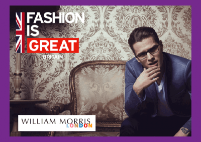 Williams Morris style English